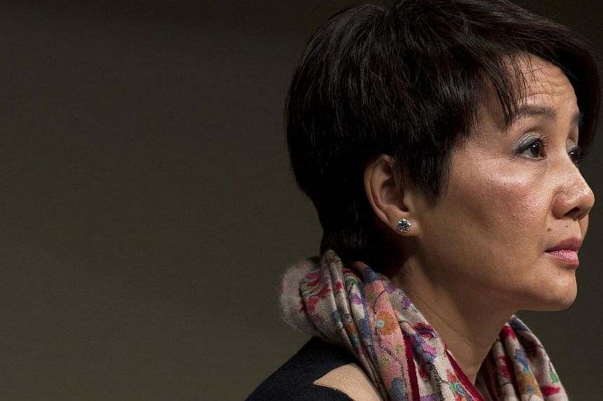 Ms Angela Leong, 52, 609th on Forbes' billionaires list, is worth US$2.8 billion. She is the mother of five of casino tycoon Stanley Ho's children. -- PHOTO: REUTERS
