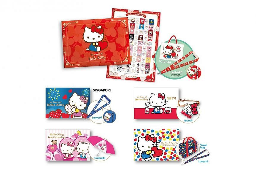 On Hello Kitty's 40th anniversary, SingPost is giving merchandise collectors of the popular cartoon cat another reason to cheer. -- PHOTO: SINGPOST