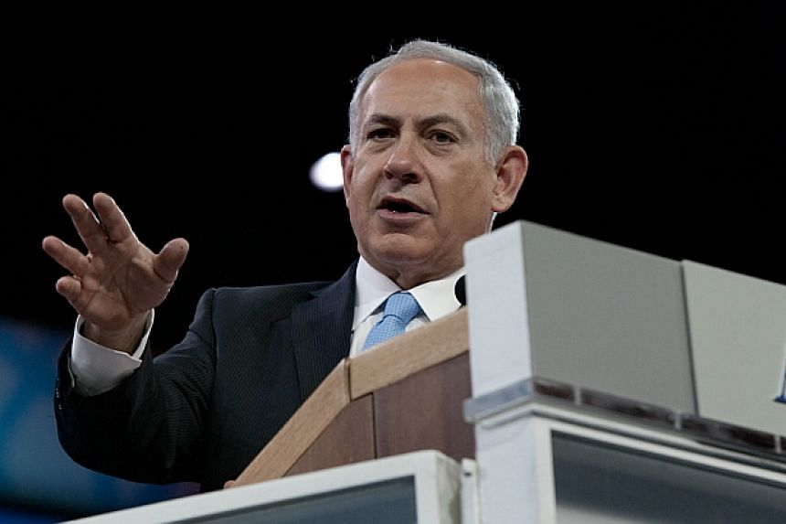 Israeli Prime Minister Benjamin Netanyahu said on Sunday, March 9, 2014, he is opposed to freezing construction in settlements as a means to extend United States-sponsored peace talks with Palestinians. -- FILE PHOTO: AFP