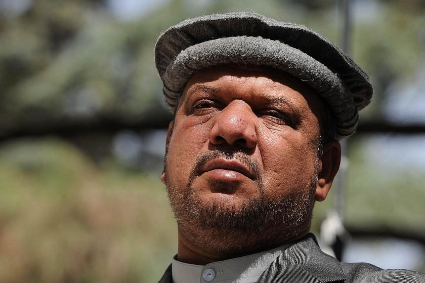 Afghan Vice President Marshal Mohammad Qasim Fahim, formerly one of the country's much-feared warlords, has died of natural causes, officials said on Sunday, March 9, 2-14, adding that three days of national mourning would be held. -- FILE PHOTO: AFP