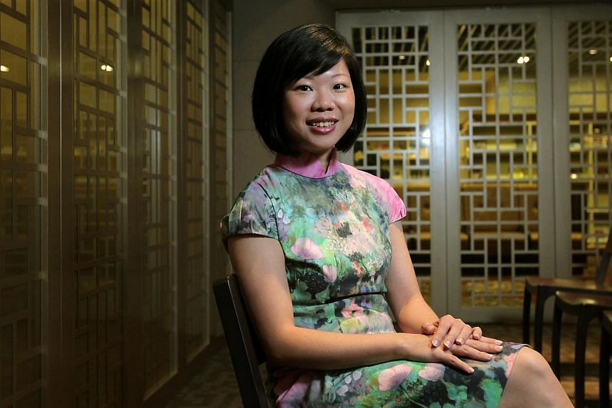 Ms Sim Ann, Minister of State for Communications and Information, and Education.The government is setting up a National Translation Committee to enhance government translation capabilities. -- ST FILE PHOTO:SEAH KWANG PENG