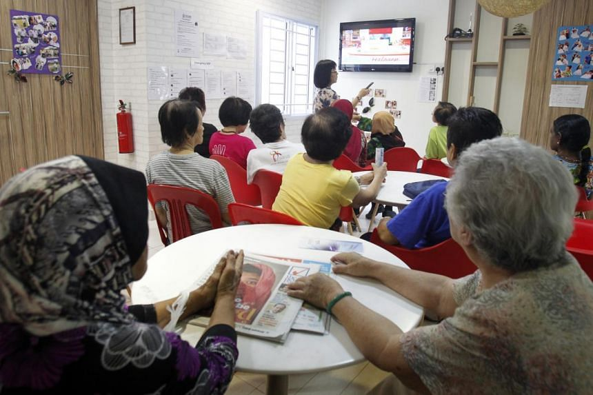Low-income households will be able to benefit from a new assistance package to help them view free-to-air digital television programmes by September this year. -- ST FILE PHOTO: KEVIN LIM