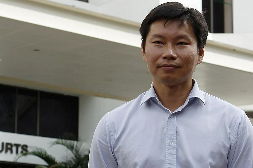 NParks assistant director Bernard Lim Yong Soon leaves the Subordinate Courts on Aug 29, 2013. -- ST FILE PHOTO: WONG KWAI CHOW