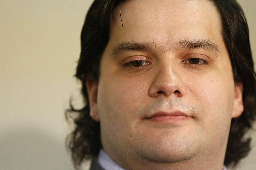 Mr Mark Karpeles, chief executive of Mt. Gox, at a news conference at the Tokyo District Court in Tokyo on Feb 28, 2014. Mt. Gox, once the world's largest bitcoin exchange, received United States bankruptcy protection on March 10.-- FILE PHOTO: