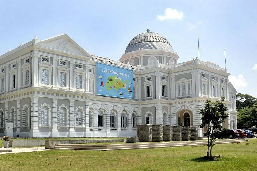 The Ministry of Culture, Community and Youth will pour more than $65 million into museums and cultural institutions, to upgrade facilities such as the Esplanade and National Museum (above). -- ST FILE PHOTO:LIM SIN THAI