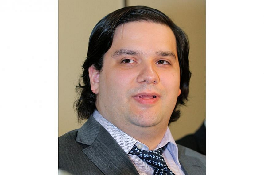 Mark Karpeles, president of MtGox bitcoin exchange speaks during a press conference in Tokyo on Feb 28, 2014. -- FILE PHOTO: AFP