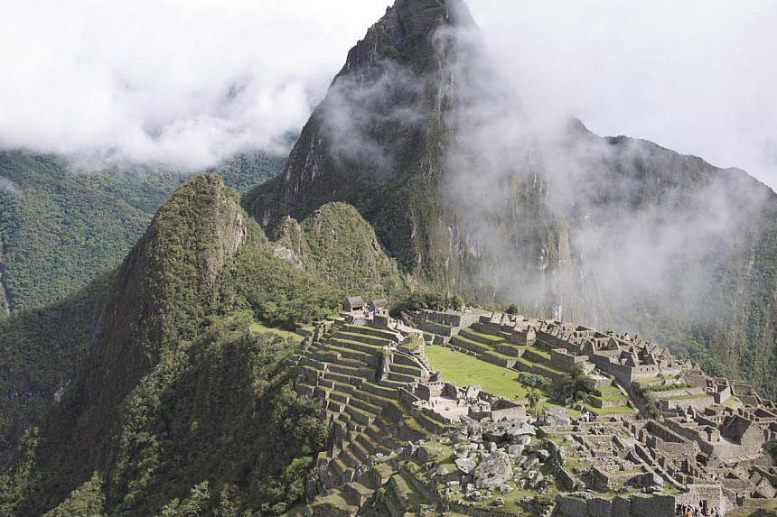 The citadel of Machu Picchu in Peru. -- ST FILE PHOTO: GEOFFREY EU