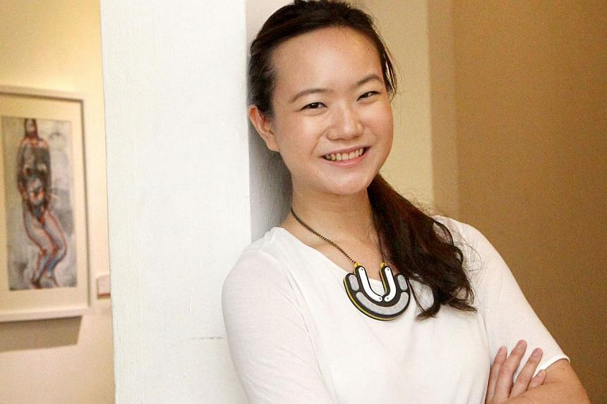 Opposition figure Nicole Seah, who contested in the 2011 General Election, will move to Thailand to further her advertising career.-- TNP FILE PHOTO:BENJAMIN SEETOR