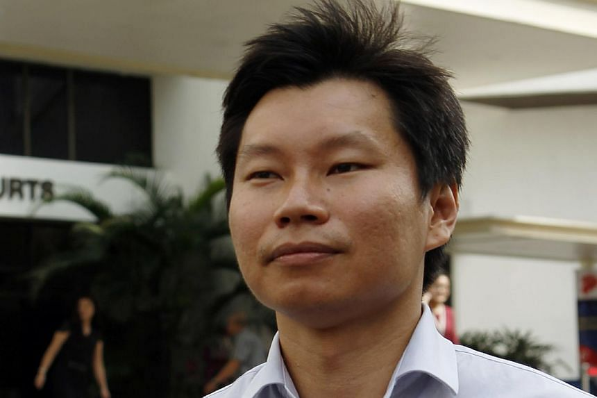 NParks assistant director Bernard Lim Yong Soon leaving the Subordinate Courts on Aug 29, 2013. -- ST FILE PHOTO: WONG KWAI CHOW