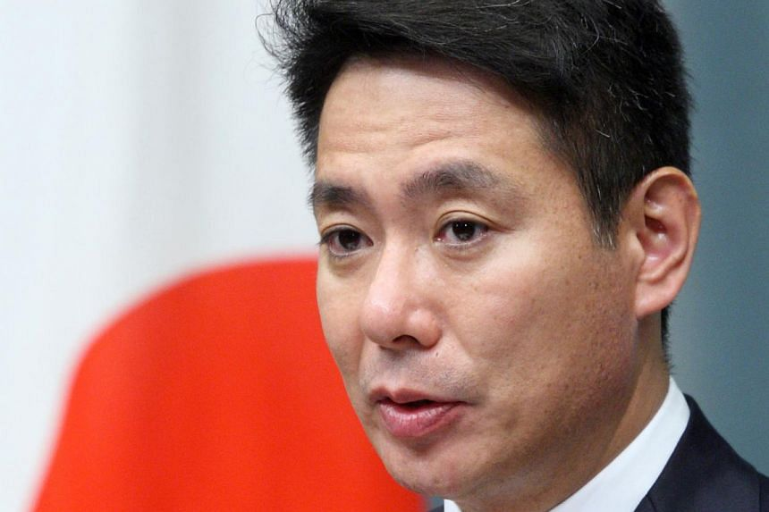 Mr Seiji Maehara, a former foreign minister and prominent member of the largest opposition Democratic Party of Japan, said that close allies Washington and Tokyo would inevitably have disagreements but should address them privately. -- PHOTO: BLOOMBE