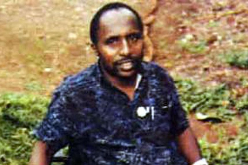 Pascal Simbikangwa, a former Rwandan army captain arrested on the French island of Mayotte in 2008. French prosecutors are seeking a life term for a Rwandan ex-soldier accused of participating in the country's 1994 genocide, in a verdict due on Frida