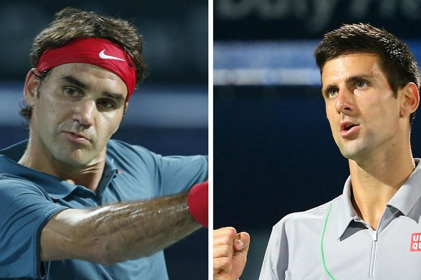 Roger Federer and Novak Djokovic cruised into the quarter-finals of the BNP Paribas Open at Indian Wells on Wednesday, March 12, 2014, after Wimbledon champion Andy Murray and Australian Open winner Stanislas Wawrinka both fell in the fourth round. -