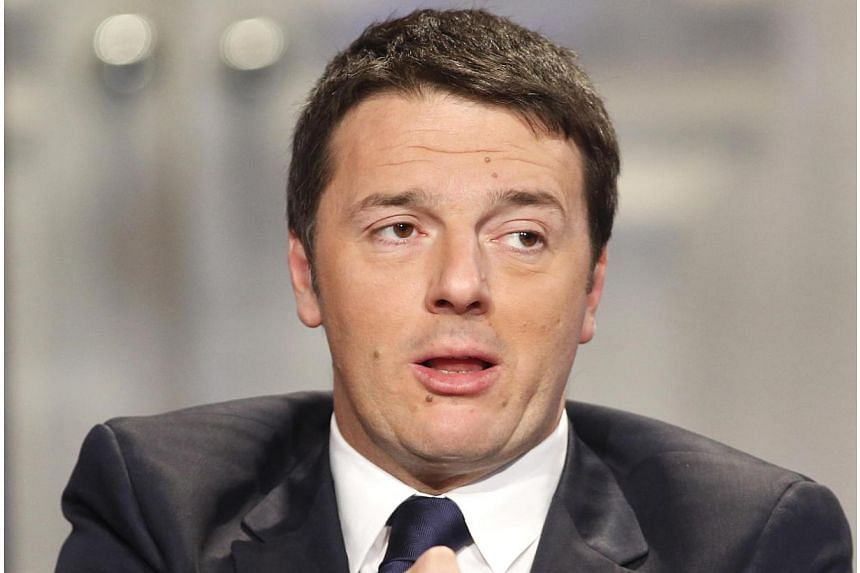 """New Italian Prime Minister Matteo Renzi has branded the Stability Pact rules for euro zone economies """"a stupidity pact"""". -- PHOTO: REUTERS"""