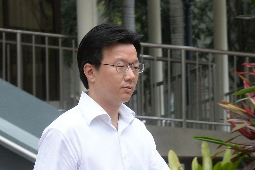 Lee Poh Yee, senior vice-president of VIP services with the Gaming Services Department in Resorts World Sentosa, was charged in court for giving false information to the Casino Regulatory Authority and fined $20,000 on Friday, March 14, 2014. -- ST P