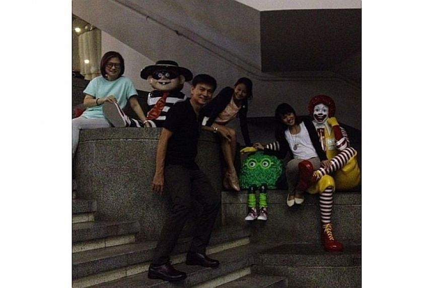 KAP memories! This will sadly be our last family photo with RonaldMcDonald here.-- PHOTO: INSTAGRAM USER RITAHOHOHO