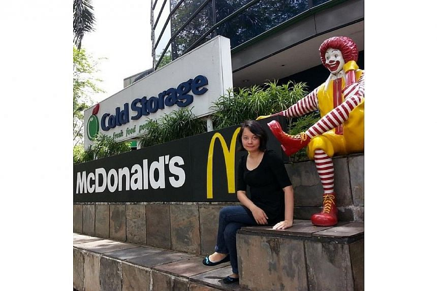 15March2014 Visit again to the memorable King Albert Park Mcdonald's.. Goodbye.. We will always miss this place..-- PHOTO: INSTAGRAM USER SHALNYONG