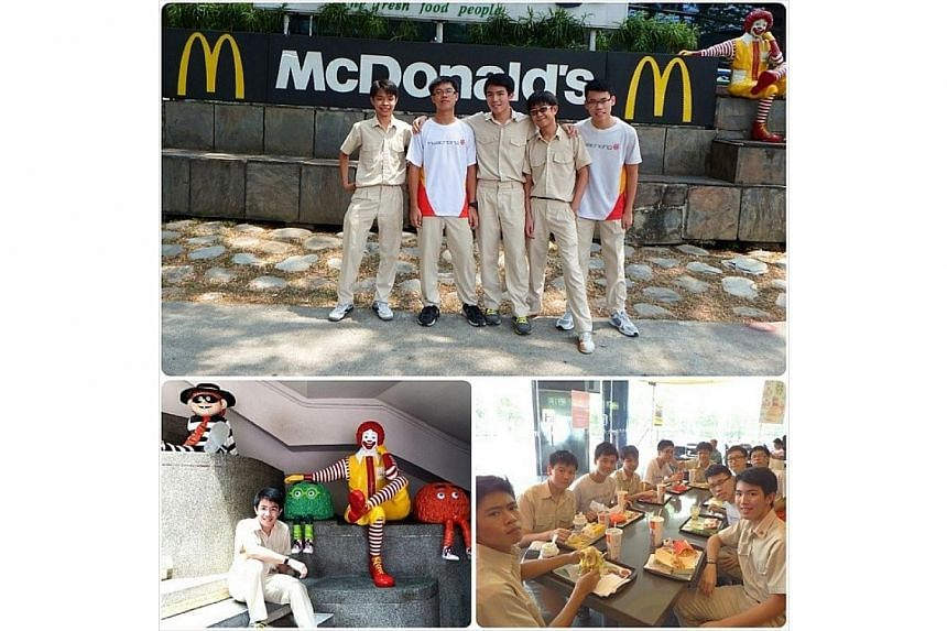 Since Secondary 1, I've gone to KAP McDonalds numerous times to have my lunch. It has been a popular place for students around the area to enjoy a meal after a day in school. KAP McDonalds had been a common hangout spot for my class. We spend our tim