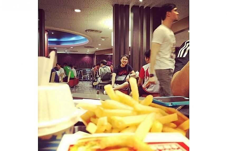 Final meal at #KAP before it closes. Used to be a hur idiotplayground at this spot!-- PHOTO: INSTAGRAM USER DERRICKHOZW