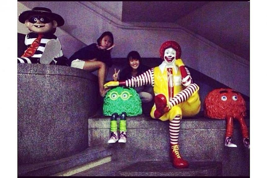 This is part of our childhood! & my sis hopes to hold her 19th party in McDonald's too.-- PHOTO: INSTAGRAM USER WANZILOW