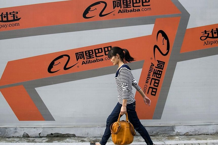 Chinese e-commerce company Alibaba Group Holding Ltd said on Sunday it has decided to begin the process for an initial public offering in the United States. -- PHOTO: REUTERS