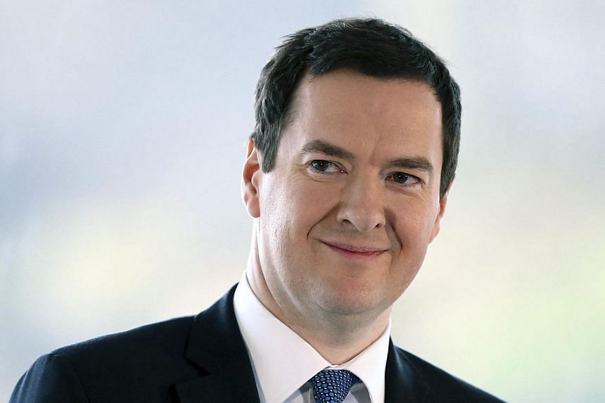 Finance Minister George Osborne warned on Sunday, March 16, 2014, that Britain's economic recovery was on course but far from completion as he prepared to deliver his annual budget this week. -- FILE PHOTO: REUTERS
