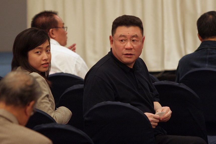 Real estate developer Chinese Estates Holdings said on Sunday, March 16, 2014, its Chairman and Chief Executive Joseph Lau has resigned after he was found guilty of bribery and money laundering charges in Macau. -- FILE PHOTO: APPLE DAILY
