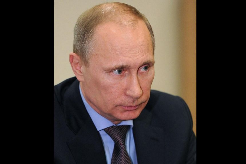 President Vladimir Putin on Sunday, March 16, 2014, told German Chancellor Angela Merkel his country would respect the choice of the people of Crimea and expressed concern over tensions in Ukraine's Russian-speaking regions of south and southeast. --