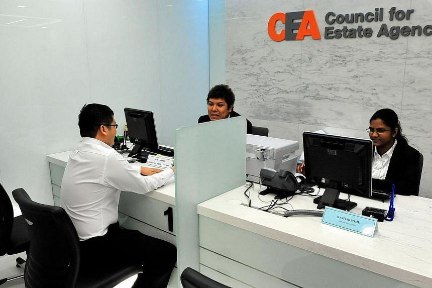 The Council for Estate Agencies, industry watchdog for real estate agents, has put up an online consumer guide to overseas property purchases, it said on March 17, 2014. -- ST FILE PHOTO: DESMOND FOO