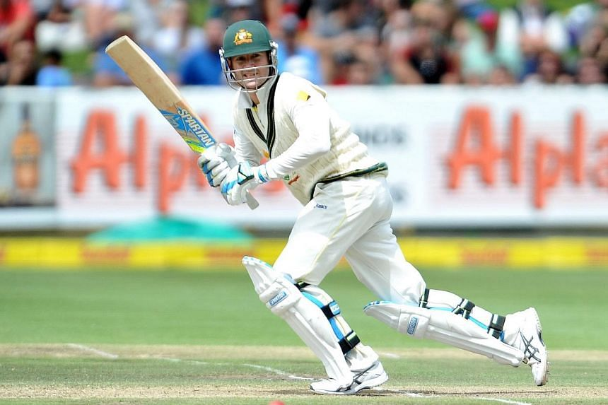 Australia captain Michael Clarke batted with a broken shoulder on the recent tour of South Africa and has been advised to rest, ruling him out of the domestic first-class final later this week, Cricket Australia said on Monday, March 17, 2014. -- FIL