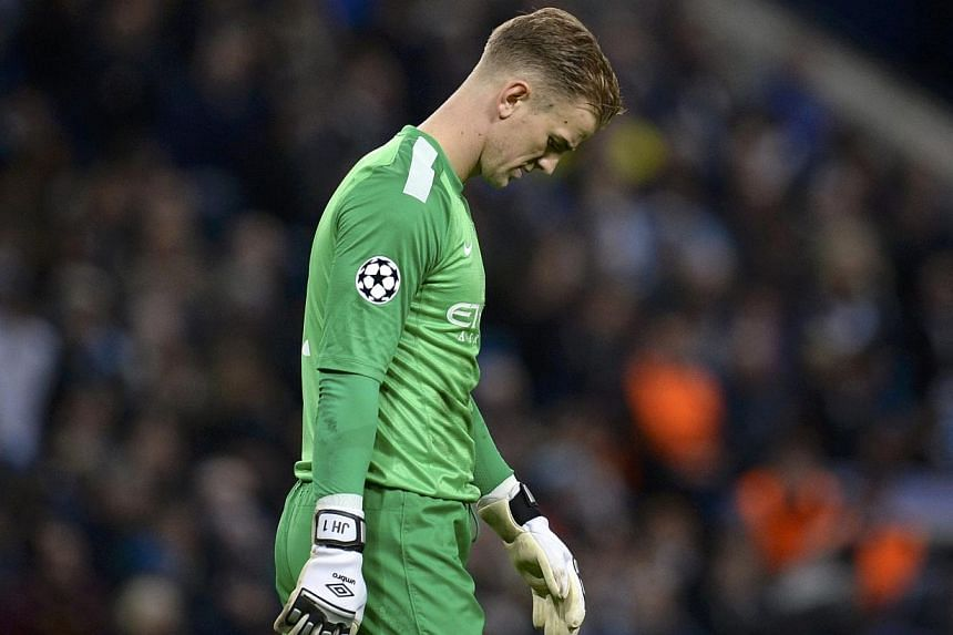 Manchester City goalkeeper Joe Hart will face no further disciplinary action after being booked for his role in a confrontation with Hull's George Boyd last weekend, the Football Association announced on Tuesday, March 18, 2014. -- PHOTO: REUTERS