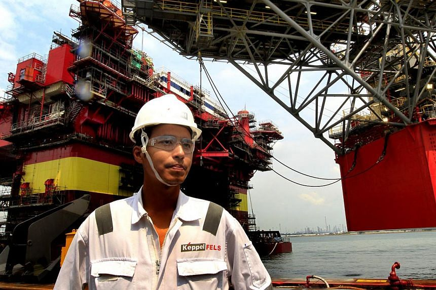 Student internships in the offshore and marine sector are currently too short and designed more to give them a taster, said a senior industry representative. -- ST FILE PHOTO:CHEW SENG KIM