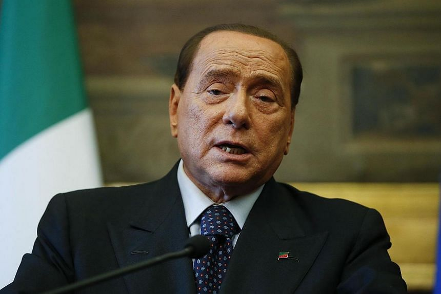Italy's supreme court on Tuesday upheld a two-year ban from public office against former Prime Minister Silvio Berlusconi (above) who had filed an appeal with the country's top court. -- FILE PHOTO: REUTERS