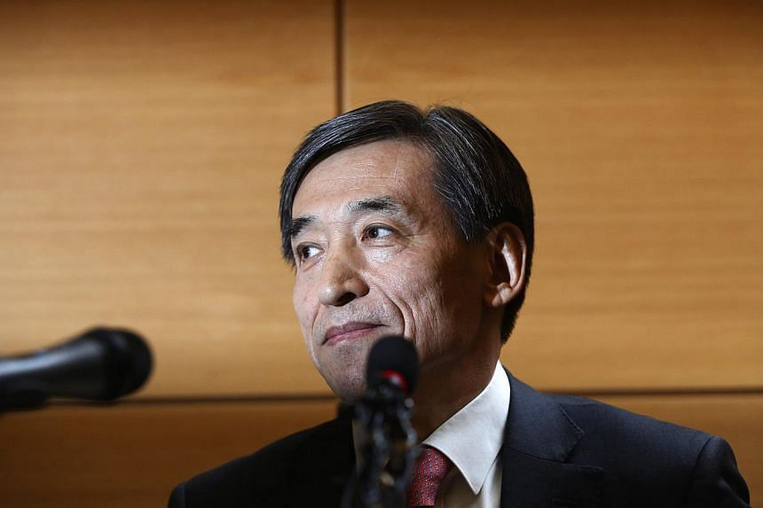 Lee Ju-yeol, the nominee to be the next chief of South Korea's central bank said on March 19, 2014, there was a communication problem when the Bank of Korea unexpectedly cut interest rates in May last year. -- FILE PHOTO: REUTERS