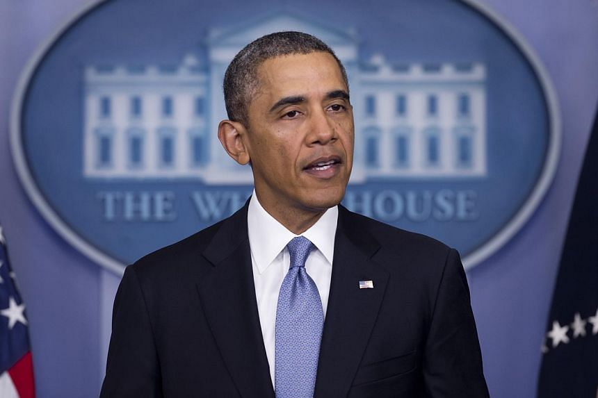 President Barack Obama said on March 19, 2014, that the search for the missing Malaysia Airlines flight MH370 was a top priority for the United States and offered every possible resource. -- FILE PHOTO: AFP