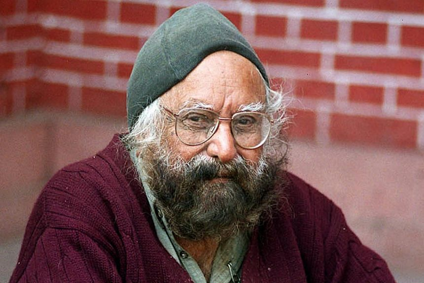 Khushwant Singh, one of India's best known writers who won fame for a searing book on partition of the subcontinent as well as his once-daring descriptions of sex, died Thursday, March 20, 2014, aged 99. -- FILE PHOTO: AFP