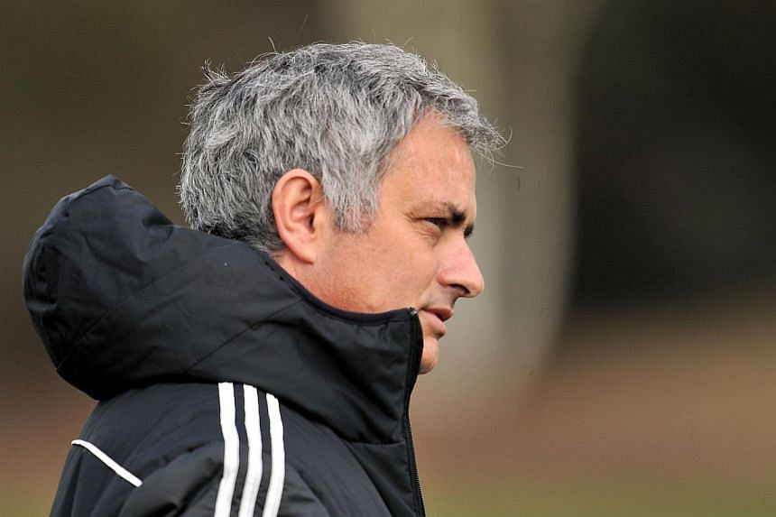 Chelsea manager Jose Mourinho announced on Friday, March 21, 2014, that he will contest the charge of improper conduct levelled by the Football Association following his side's defeat at Aston Villa last weekend. -- FILE PHOTO: AFP