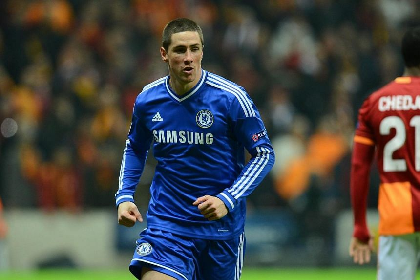 English Premier League club Chelsea's striker Fernando Torres has potentially opened the door on a return to Atletico Madrid, after expressing an interest in working under former team-mate Diego Simeone. -- FILE PHOTO: AFP