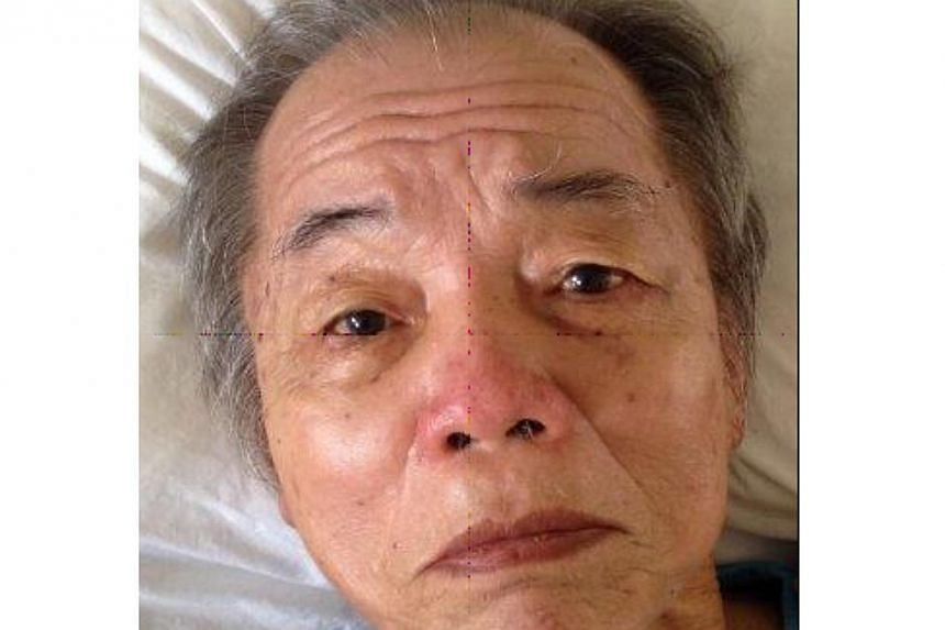 The police are looking for the next-of-kin of a 76-year-old man who died at Tan Tock Seng Hospital on March 10. -- PHOTO: SINGAPORE POLICE FORCE