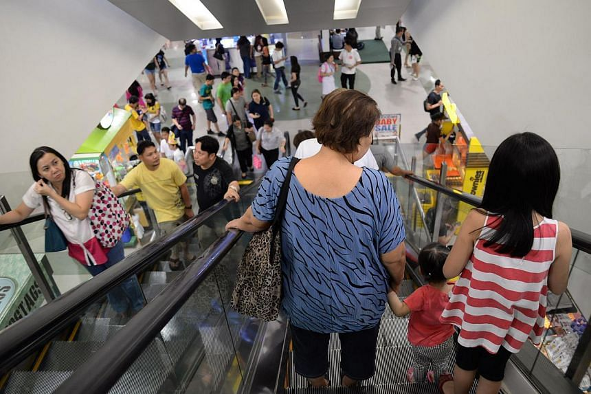 In Manila, an escalator - as long as it's moving - is meant to be stood on. People don't clear the right-hand side to give way to those in a hurry. Anyone trying to move past other people on a moving escalator is considered boorish.