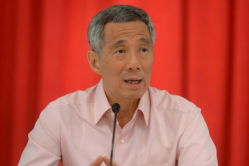 Prime Minister Lee Hsien Loong speaking during a haze press briefing on 20 June 2013. Soon after arriving here on Sunday for the third Nuclear Security Summit, Prime Minister Lee Hsien Loong held a meeting with his counterpart from host country the N