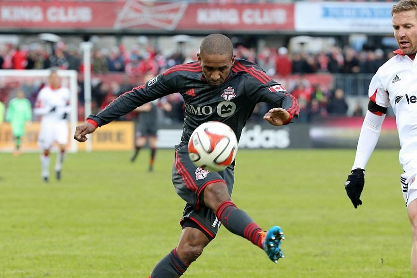 Former Tottenham striker Jermain Defoe scored in the 60th minute on Saturday to give Toronto a 1-0 victory over DC United in the Canadian Major League Soccer club's home opener. -- PHOTO: USA TODAY SPORTS
