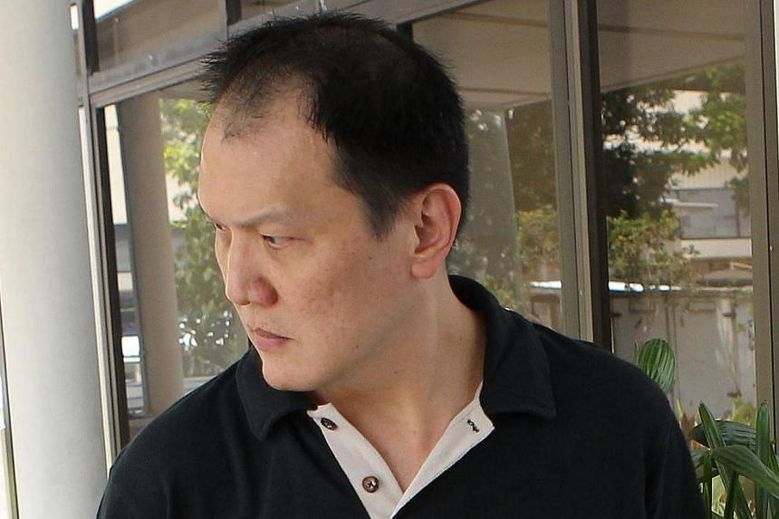 Chan Mun Hing, 48, who negligently caused the death of the wife of a university professor was on Monday jailed for three weeks and banned from driving for five years. -- ST PHOTO: ONG WEE JIN