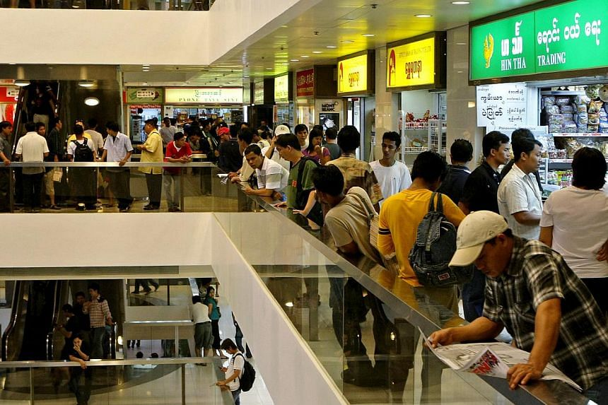 More young Myanmar professionals are being drawn to the prospects of a growing economy at home, they may also be pushed out by tightening labour laws in Singapore, members of the community said. -- NP FILE PHOTO: GAVIN FOO