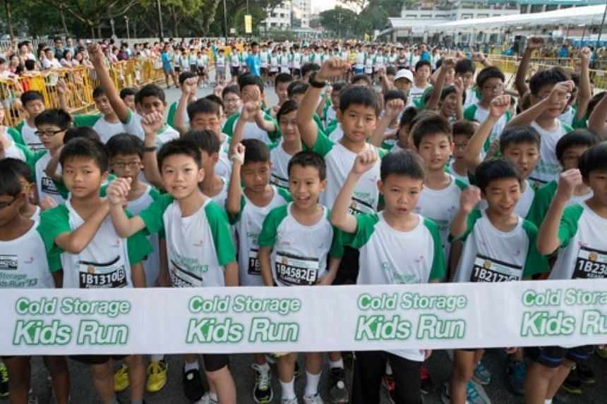 The Cold Storage Kids Run is returning for a seventh edition on May 18, and will be held at The Meadow at Gardens by the Bay this time.-- PHOTO: COLD STORAGE KIDS RUN