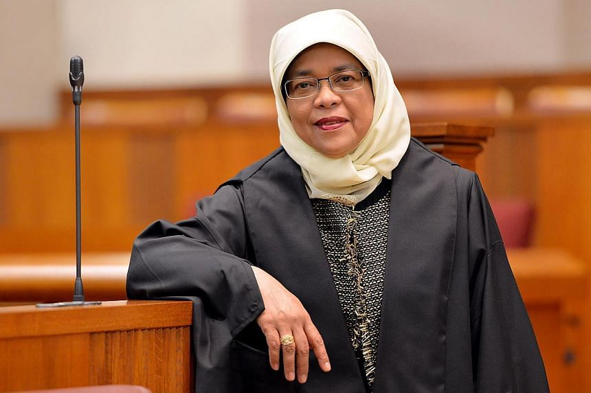 The Government should seriously consider legislating eldercare leave for workers, Speaker of Parliament Halimah Yacob has again said. -- BH FILE PHOTO: M.O. SALLEH