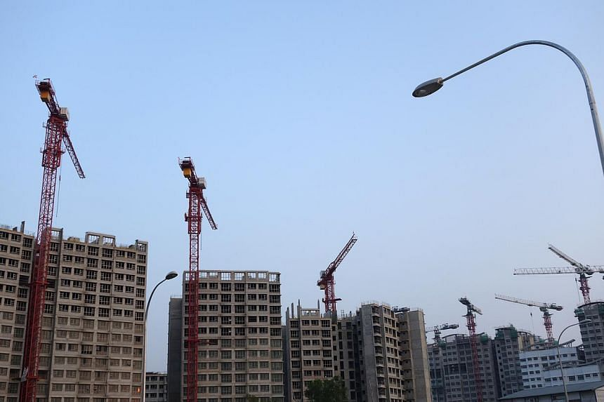 The Housing Board launched 3,497 flats in the March Build-To-Order (BTO) exercise on March 26, 2014, the second since it was announced that the supply of new flats would be tapered off this year. -- FILE PHOTO: STEPHANIE YEOW