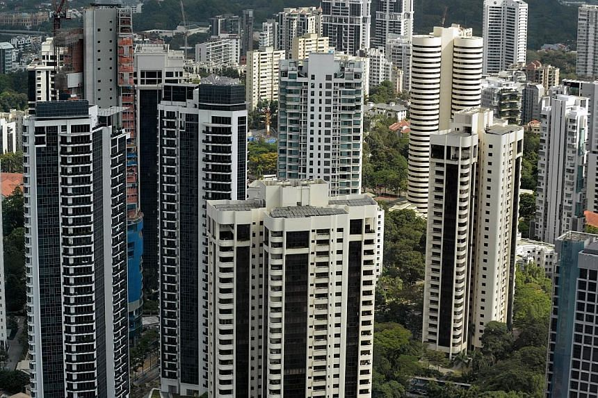 Three residential sites will be rolled out for sale under the first half Government Land Sales (GLS) programme. -- FILE PHOTO: AFP