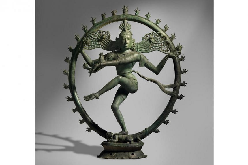 Bronze sculpture of Shiva as Lord of the Dance, National Gallery of Australia. Australia is preparing to return two centuries-old statues to India, officials said Thursday, March 27, 2014, following allegations they were stolen from ancient sites and