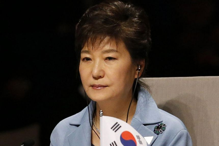 "North Korea accused South Korean President Park Geun Hye of breaking a moratorium on cross-border insults and behaving like a ""blabbering"" peasant woman. -- FILE PHOTO: AFP"