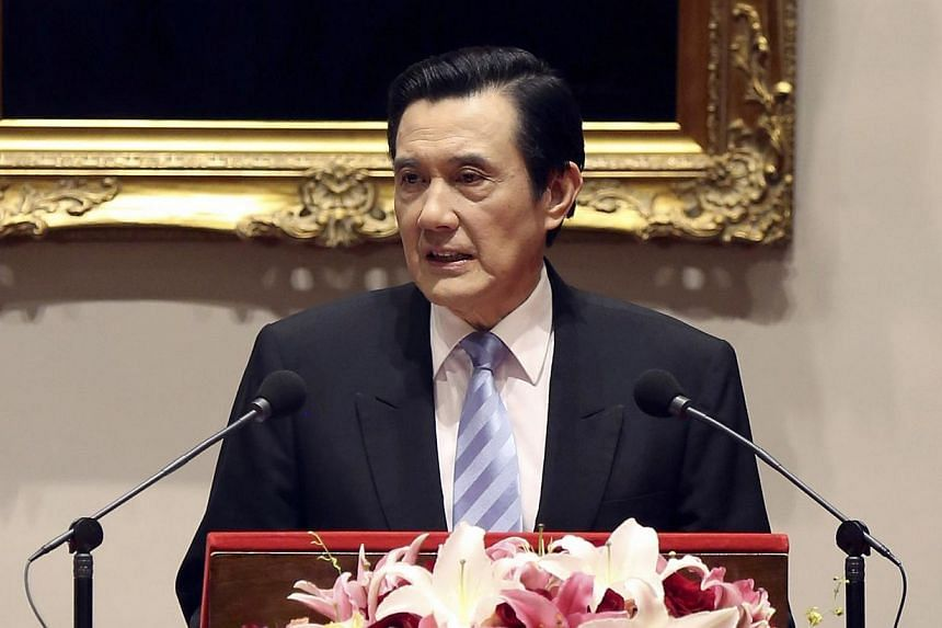 Taiwanese President Ma Ying-jeou said on Saturday, March 29, 2014, student protests over a controversial trade pact with mainland China will not affect the potential for a meeting with Chinese President Xi Jinping. -- PHOTO: REUTERS